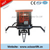 16m Scissor aerial lift platform / Vertical electric platform lift