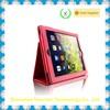 Stand ultra slim folio genuine leather case for iPad Air