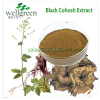 Natural Black Cohosh Extract P.E / Triterpenoides Saponis >3% HPLC / Delay aging of skin and visceral organ