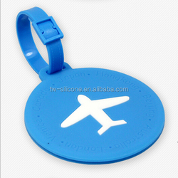 Hot Sale Different Shapes OEM Factory Plastic Luggage Tag