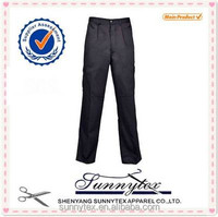 Sunnytex Hot selling OEM service two front pocket black camo pants
