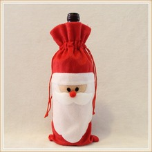 Chrismas Decoration Supplies Santa Claus Wine Cooler