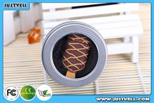 Gifts choice!!Pretty chocolate icecream shape usb flash drive ,1GB-64GB usb pen drive with pretty silicon case