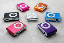 4GB Memory Size and < 10 hours Battery Life mini clip mp3 player