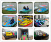 Hot summer water play equipment fast water pedal boat for four people