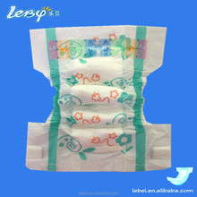 printed absorbent lovely adult baby diaper