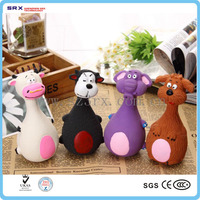 Custom made soft teether, pvc teether for dog toys factory in China