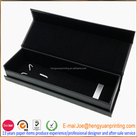 Magnetic closure pen gift box with customize logo