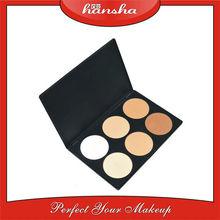 Professional Face Makeup Foundation Pressed Powder 6 Colors/Set