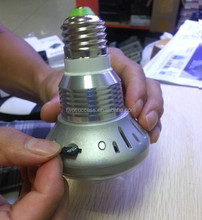 Hidden Camera Light Bulb For Warehouse