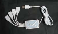 usb hub email notifier,message indicator,webmail reminder with 4 port usb hub
