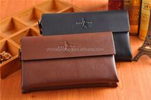 2014 New design clutch bag for men leather business bag
