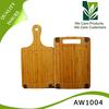 Three layer bamboo sheet construction chopping board