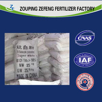 the third party free test Titanium Dioxide customized Chlorination and sulfuric process