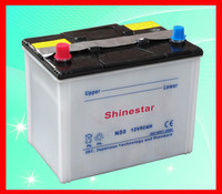car battery wholesale N50 12V 50AH Auto Battery car battery prices