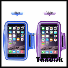 Universal Mobile Phone Sweatproof Waterproof Jogging Running Arm Band Holder Case for IPhone 6 Plus 5.5 Sport Bag Pouch