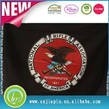 Amazing quality noble black &red colors American Eagle printed polar fleece blanket