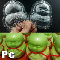 Lucky baby fruit and vegetables forming mould