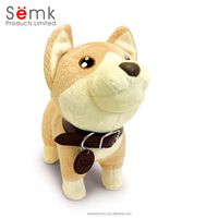 Hot sale items soft funny cute dog plush toys