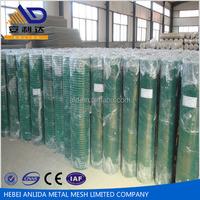 "PVC Kawat Loket 0.9mx10m 1/4"" x1/4"" 4.5kg / PVC Coated Welded Wire Mesh To Indonesia"