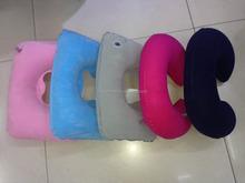 Flocking air pillow Inflatable pillows Toys pillow
