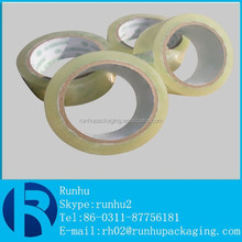 50 mic clear bopp packaging adhesive tape made in china very popular export to australia