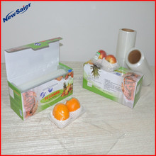 100% virgin fresh PE cling film for food wrapping