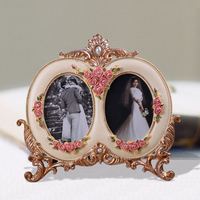 2.5*3.5 advertising snap carton character photo frame children body combination concave oval diamond shaped picture frame