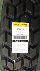 Japan technology tyre, 750R16-8PR SP Sand Grip Doubleroad/ Westlake tires to Sahara desert tyre