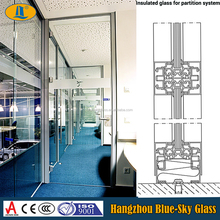 10mm Office partition glass