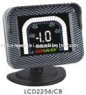 """2.5"""" LCD multiple function auto modified meter LCD2256/CB tachometer"""