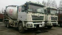 Used Shanqi Delong year 2012 China made 12m3 mixer truck and second hand Shanqi Delong 12m3 mixer truck located in shanghai