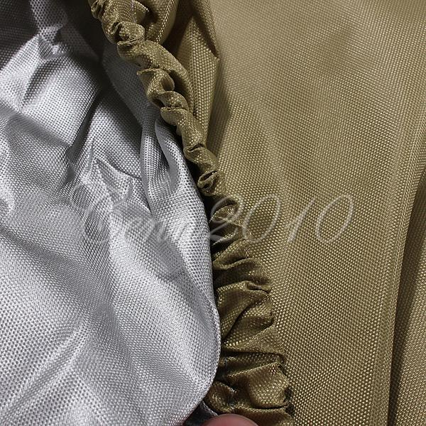 Details about 95/108/112 2/4 Passenger Golf Cart Taupe Cover Protect Against Rain Sun Snow