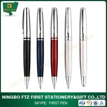 Heavy PU Leather Metal Pens With Fluent Writing