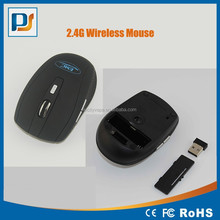 Computer Accessory Black 6D 2.4G Wireless USB gaming Mouse for Great Promotion with webkey function mice