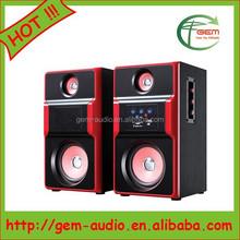 Professional active trolley speaker portable mini speaker radio control tow truck Gem-60062
