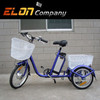 Cargo 36V Li-ion battery electric tricycle with 350w front motor(E-TDR03)