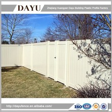 PVC Plastic Security Garden Fence