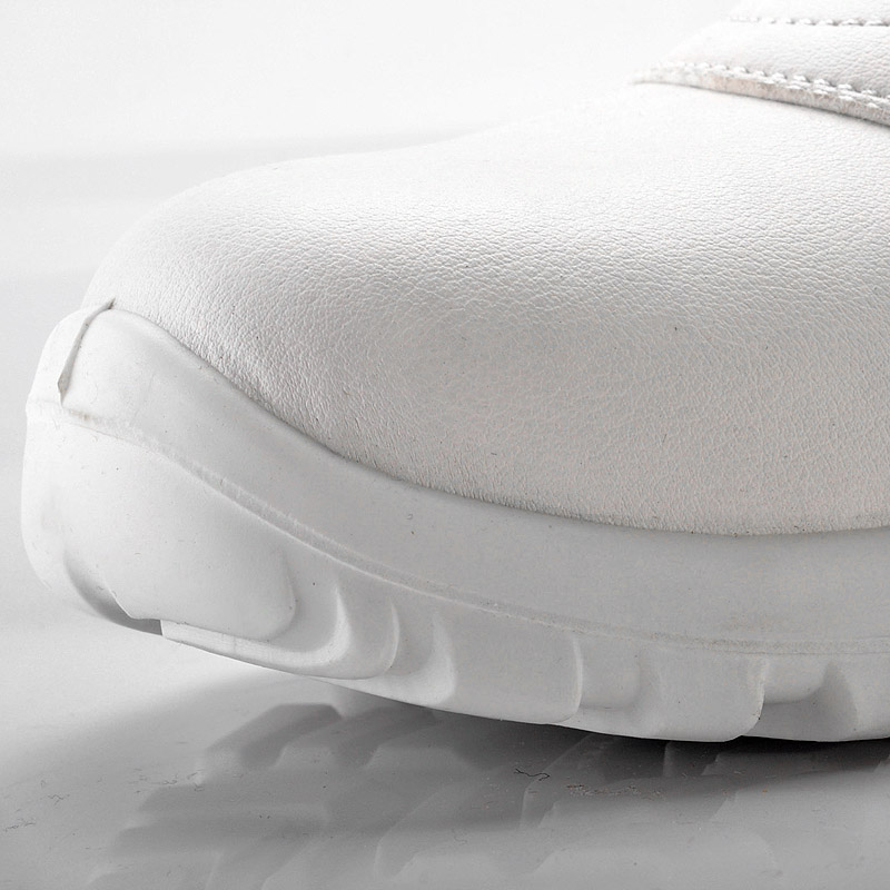 how to clean white leather shoes fast