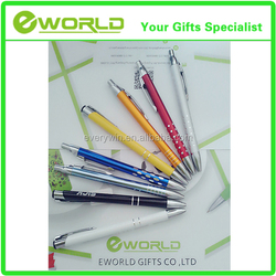 Logo Printing Cheap Promotion Brilliant Ballpoint pen Ball-point Pen Metal Ball Pen