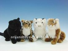 Brown tiger, the white tiger, leopard, the panthers brown,plush animal