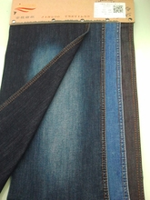 2015 75DT400 lycra spandex denim fabric , twill weaving denim fabric in 4way produce in china tex company