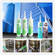 Acetic Cure glass Silicone Sealant transparent
