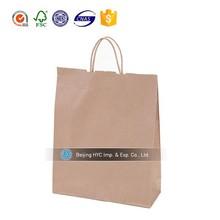 2015 OEM kraft brown paper bags wholesale gift paper bag manufacturer manufacturer sandwich paper bag