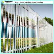 De alta 2.0m w sección de metal de acero de esgrima palasade