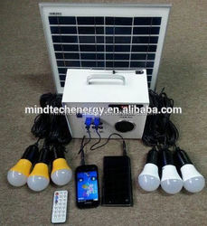 30w indoor home solar power lights for home solar power generator for home use
