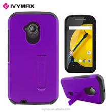 Purple color mobile case for motorola e2 cell phone accessories