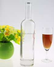 Hot sales high quality wine glass bottle bottle of red wine