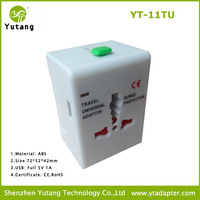 promotion gift easy for travel over 150 country with USB travel plug converter