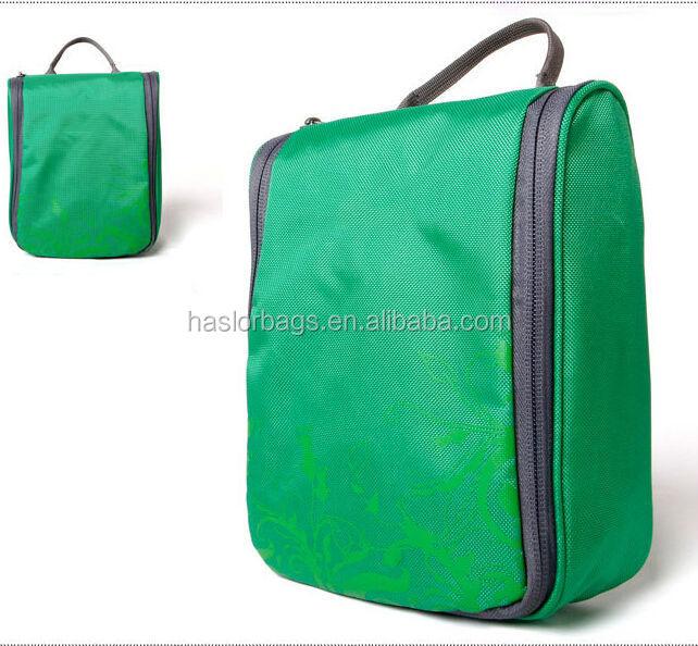 2015 nouveau design de mode suspendus sac de lavage pour voyage